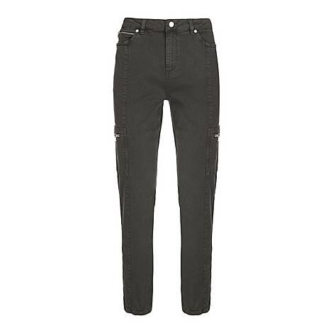 Houston Slim Cargo Jeans, ${color}