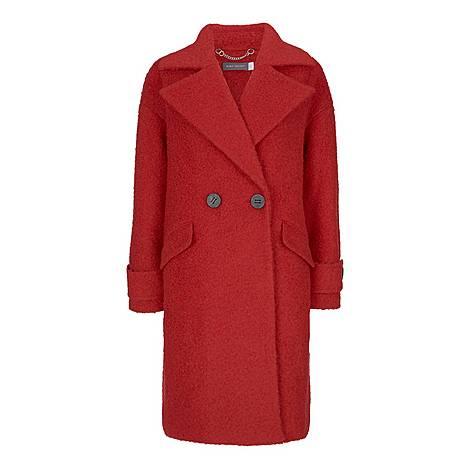 Boucle Cocoon Coat, ${color}