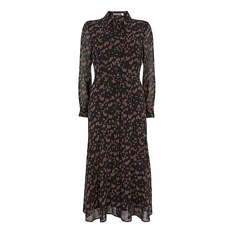 Erin Animal Midi Shirt Dress, ${color}