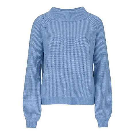 Chunky Boat Neck Sweater, ${color}