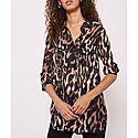 Josie Leopard Print Shirt, ${color}