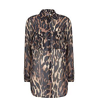 Josie Leopard Print Shirt