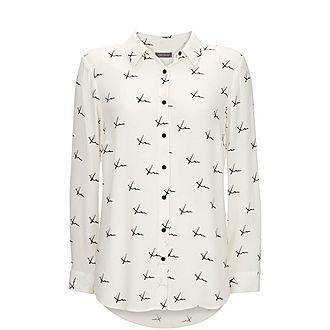 Kisses Print Shirt