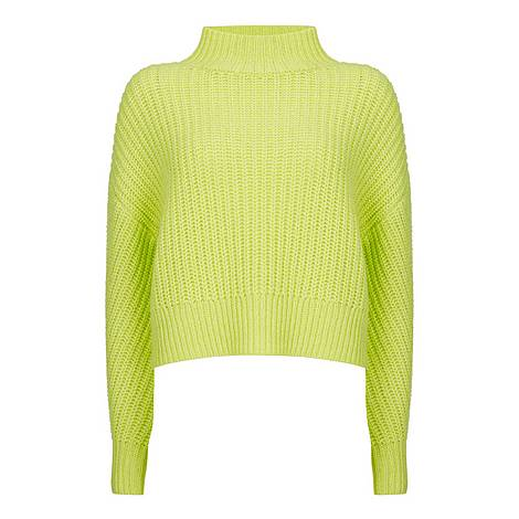 Neon Chunky Boxy Jumper, ${color}