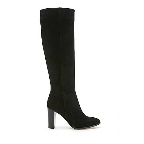 Faith Suede Knee High Boots, ${color}