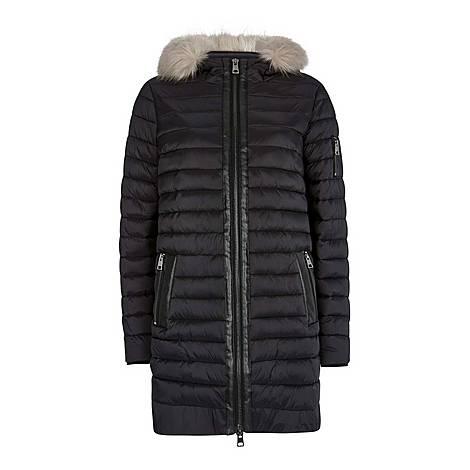 Hooded Padded Parka Coat, ${color}