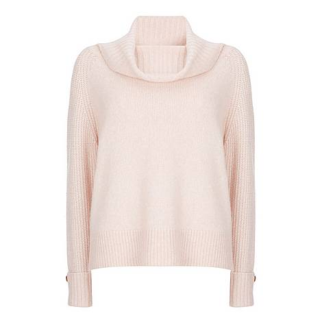 Chunky Roll Neck Sweater, ${color}