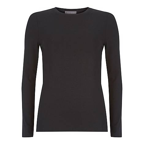 Long-Sleeved Jersey Top, ${color}