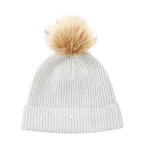 Pom Pom Knitted Hat, ${color}