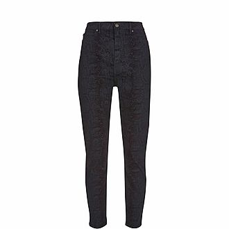 Joliet Snake Skinny Jeans