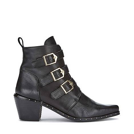 Eva Leather Cowboy Boots, ${color}