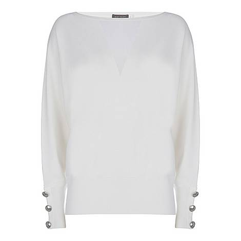 Sheer Insert Sweater, ${color}