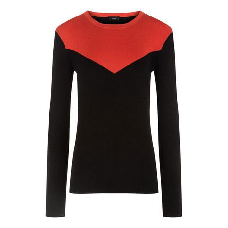Silk Stretch Sweater, ${color}