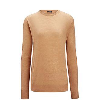 Cashair Patch Sweater