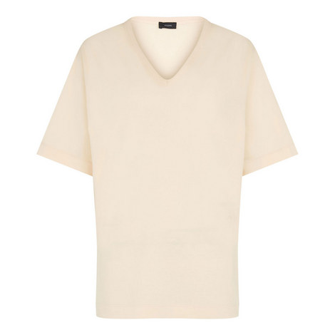 V Neck Perfect T-Shirt, ${color}