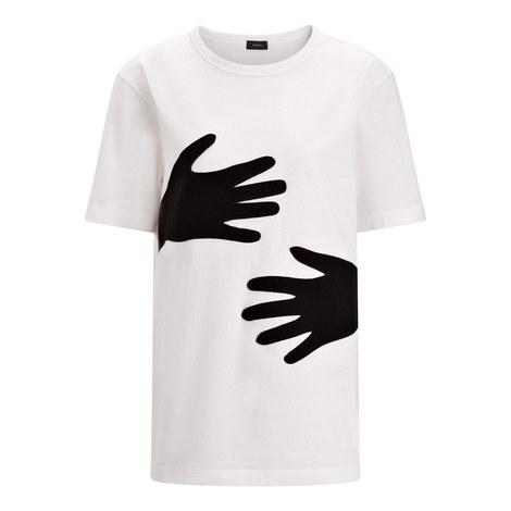 Hands Patchwork T-Shirt, ${color}