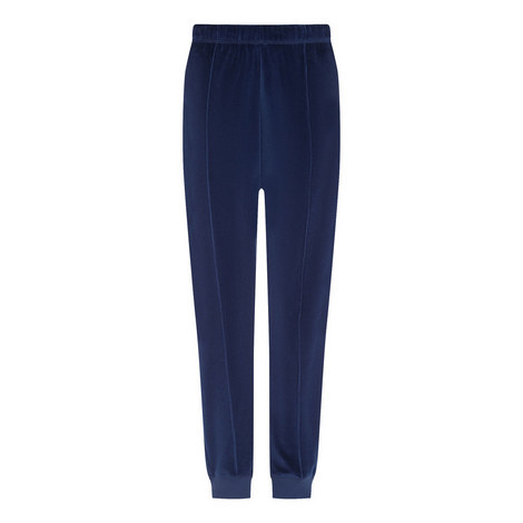 Jersey Velours Trousers, ${color}