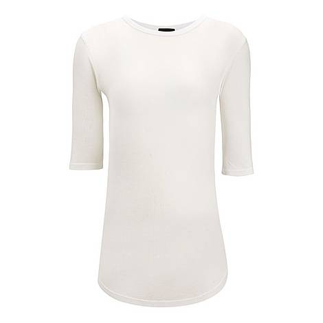 Ribbed Jersey T-Shirt, ${color}