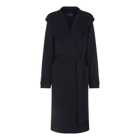 Lista Double Wool Gloss Coat, ${color}