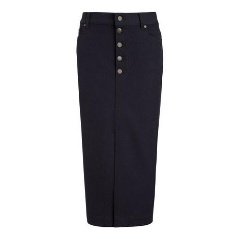 Denna Gabardine Stretch Skirt, ${color}