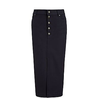 Denna Gabardine Stretch Skirt