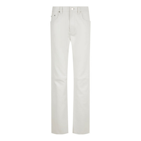 Kemp Stretch Leather Trousers, ${color}