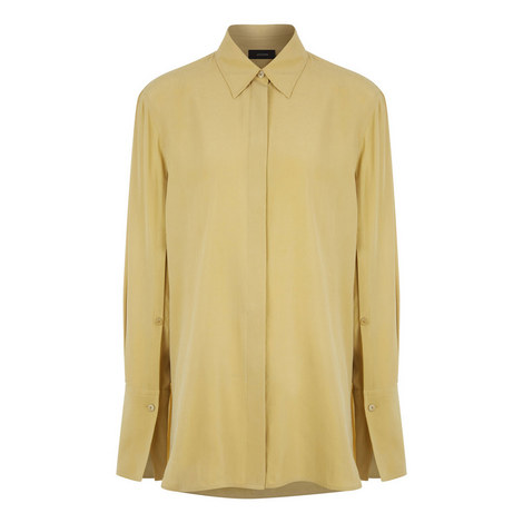 Mason Silk Toile Shirt, ${color}