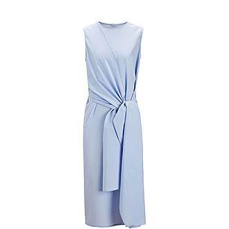 Alicia Poplin Chambray Dress
