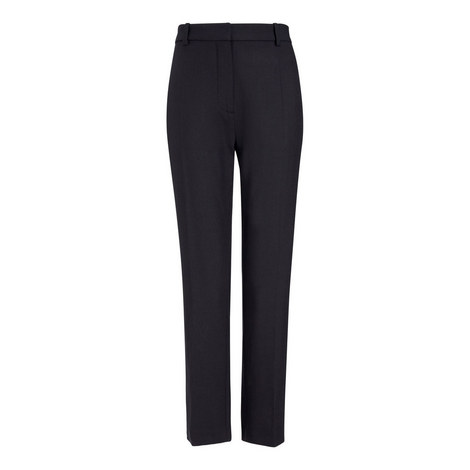 Zoom Comfort Wool Trousers, ${color}