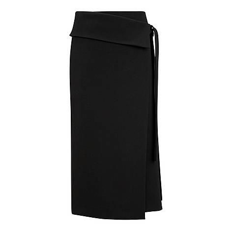 Finch Comfort Wool Skirt, ${color}