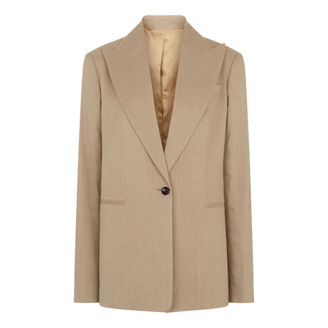 New Steed Linen Stretch Jacket, ${color}