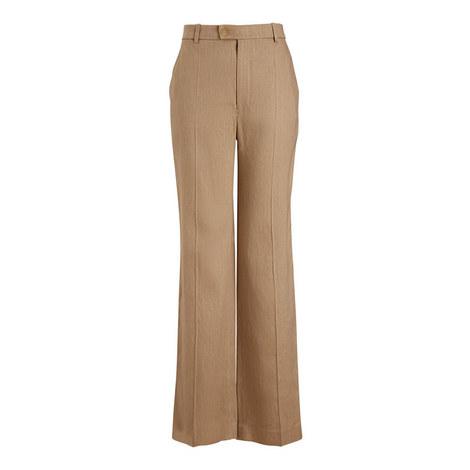 Tropez Linen Stretch Trousers, ${color}