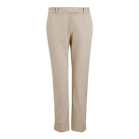 Bing Court Cotton Trousers, ${color}