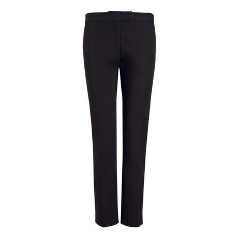 Bing Court Polish Cotton Trousers, ${color}
