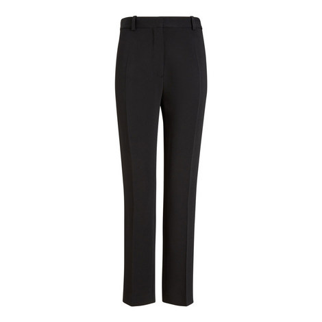 Zoom Viscose Cady Trousers, ${color}