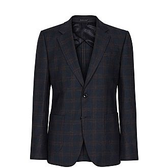 Hermitage Checked Blazer