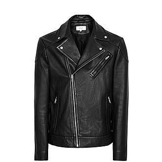 Mimo Leather Biker Jacket