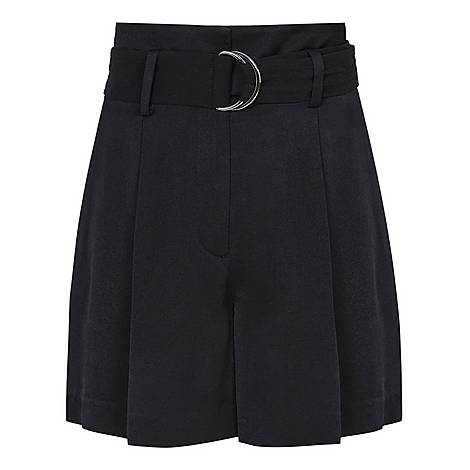 Elaine Belted Shorts, ${color}