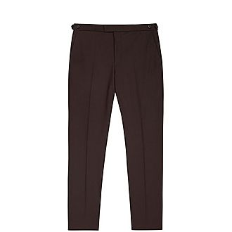 Malbec Slim-Fit Trousers