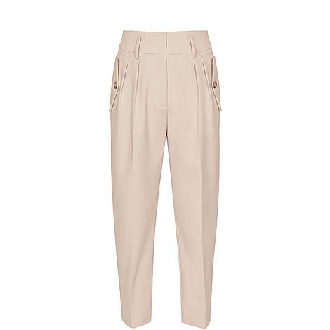 Brooklyn Tapered Trousers, ${color}