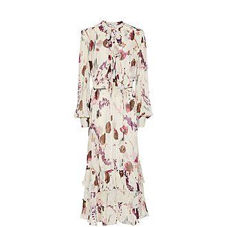 Aster Floral Print Dress