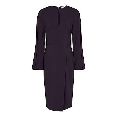 Anouk Wrap Front Dress, ${color}