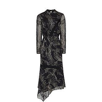 Luiza Burnout Dress