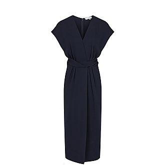 Maxime Wrap Front Dress