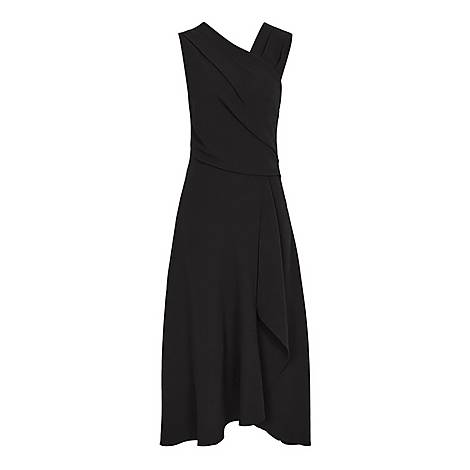 Marling Wrap Front Dress, ${color}