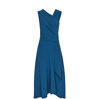 Marling Wrap Front Dress