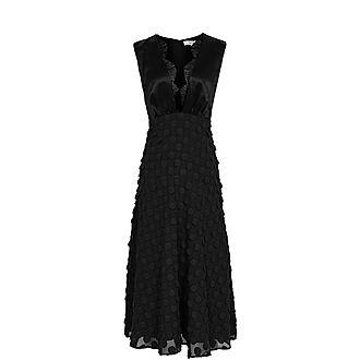 Leni Jacquard Midi Dress