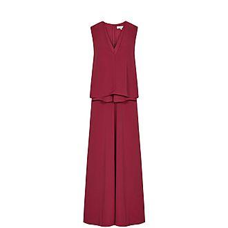 Viola Layered Midi Dress