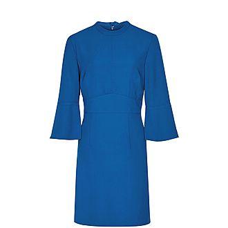Cora Bell Sleeve Shift Dress