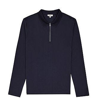 Jason Zip Neck Polo Shirt